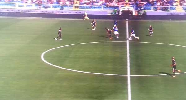 Sampdoria-Milan: 2-0. O dell'eterno sonno di Montella