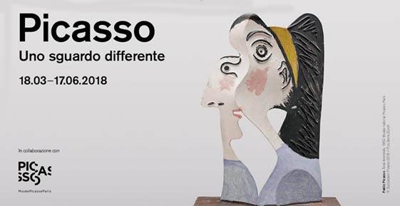 Picasso in mostra a Lugano fino al 17 giugno al Museo d'Arte della Svizzera italiana