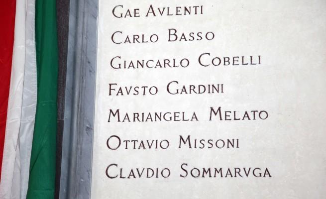 Da Gae Aulenti a Ottavio Missoni sette iscritti al Famedio di Milano