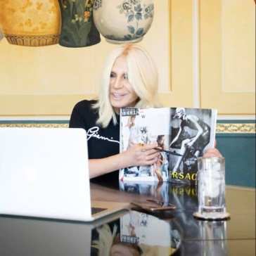 DONATELLA VERSACE: 73 Questions for a Diva | MILANO411