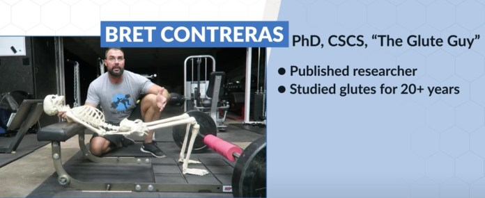 The 4 BEST Glute Exercises For A Nicer Butt (GYM OR HOME!) Ft. Bret Contreras | MILANO411