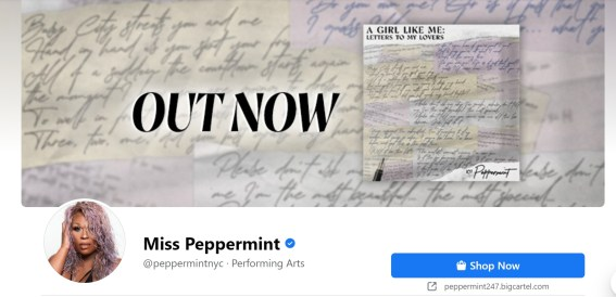 Peppermint: A Girl Like Me (Letters To My Lovers) | MILANO411