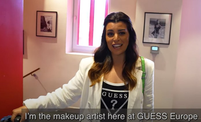 A Day in the Life of Makeup Artist + Hair Stylist, Veronica Fiorello | #LoveGUESS | MILANO411