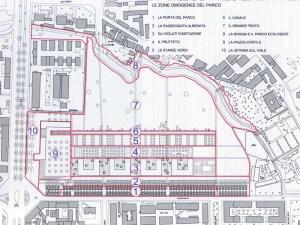 Il progetto residenziale e il parco al centro (dal sito dell' Ordine degli Architetti di Milano)