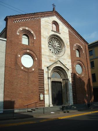 Chiesa Valdese Milano Facciata
