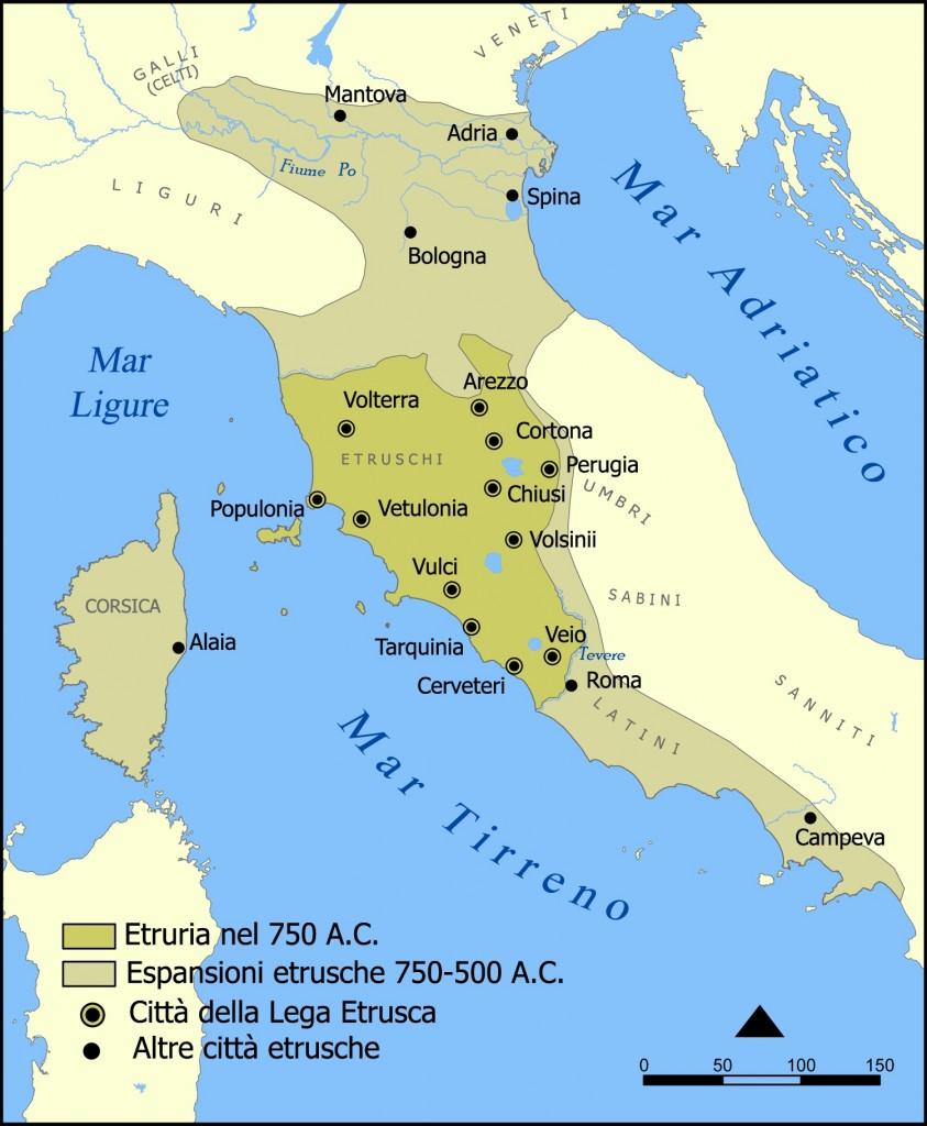 Area di espansione Etrusca