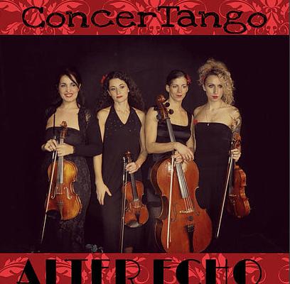"""Il Gruppo tra i tanti concerti, ne ha organizzati anche """"a base di"""" tango"""