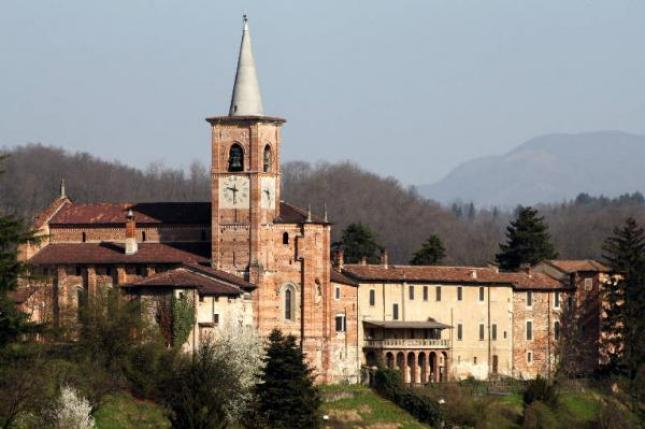 Vista sulla Collegiata 400ntesca di Castiglione Olona (foto di Leoni Marco)