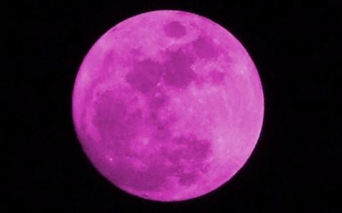 """""""Розова луна"""" феноменът, който ще наблюдаваме днес!"""