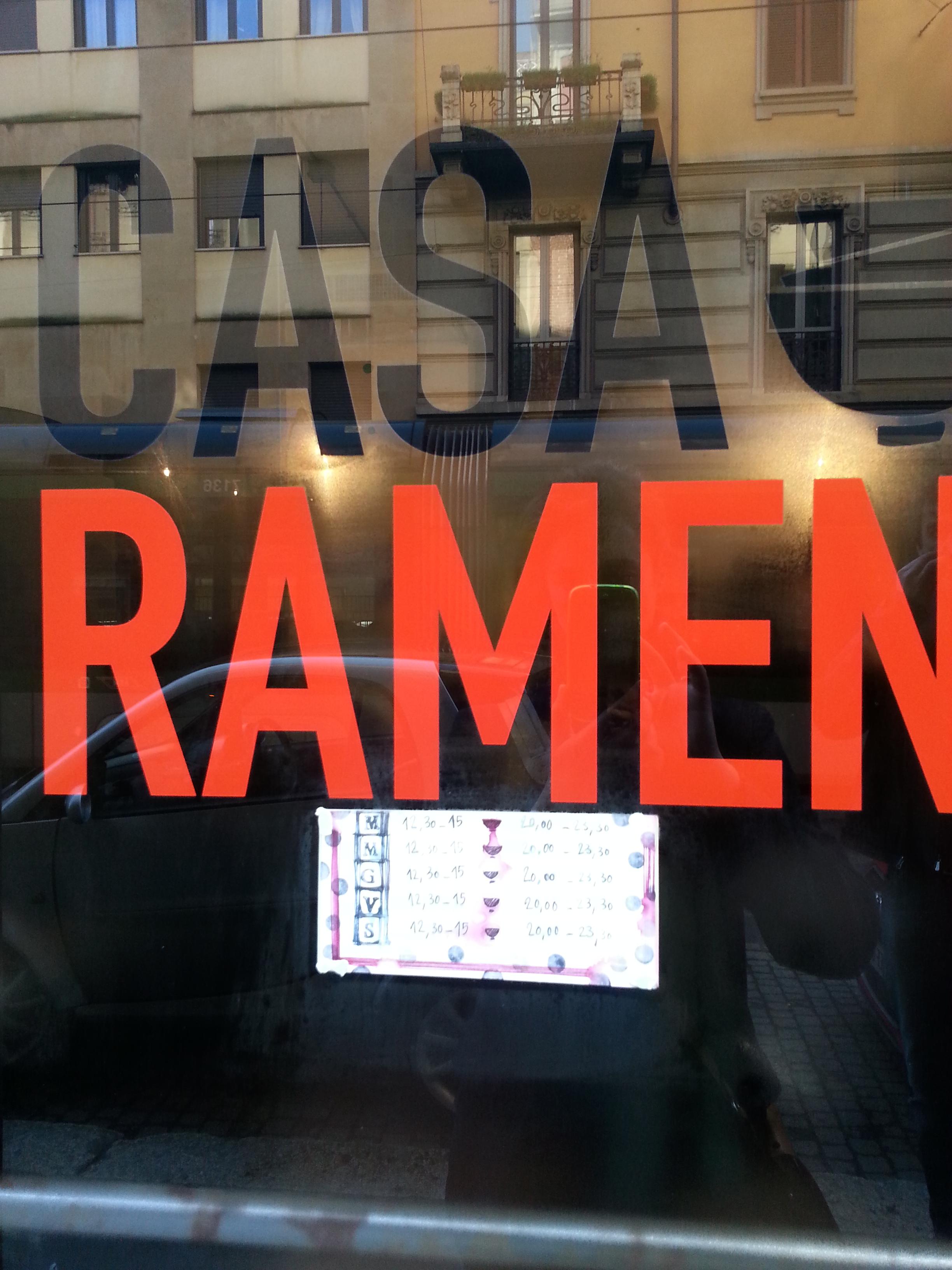 Casa Ramen  Milano non  cara