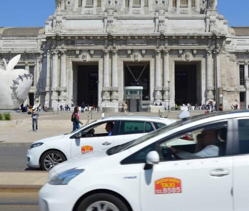 posteggi taxi provincia di Milano