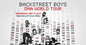Backstreet Boys in Milan May 15, 2019