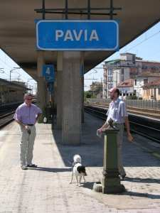 Two Dutchmen and their Dog in Italy