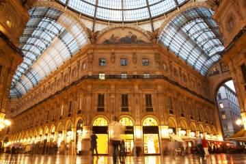 шоппинг в Милане Галлерея