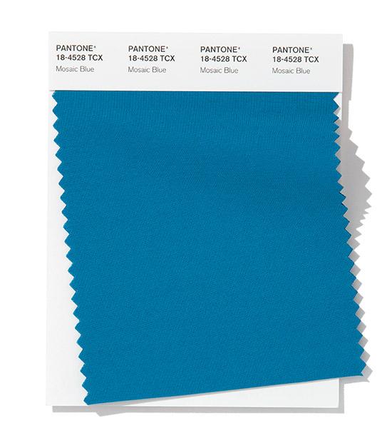 PANTONE 18-4528 Mosaic Blue - Синяя мозаика
