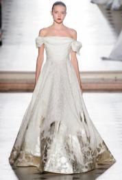 пышные свадебные платья с вышивкой Свадебное платье Tony Ward Haute Couture осень-зима 2017/18