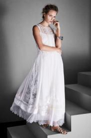 Свадебное платье Alberta Ferretti Limited Edition Бохо стиль