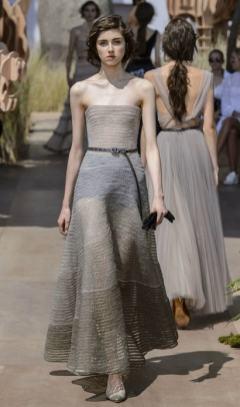 Свадебное платье Dior Haute Couture осень-зима 2017/18