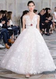 свадебное платье пышное Giambattista Valli Haute Couture осень-зима 2017/18