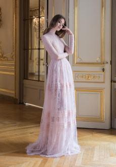 свадебное платье Париж непышное