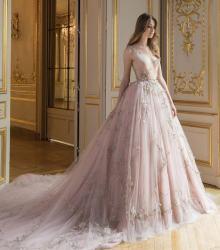 красивое нежное платье с пышной юбкой Paolo Sebastian