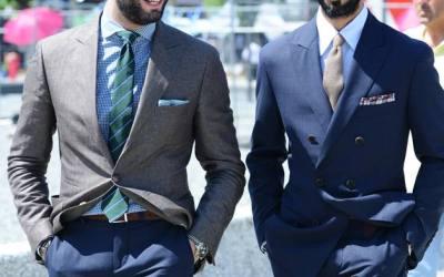 стильно одетые итальянцы