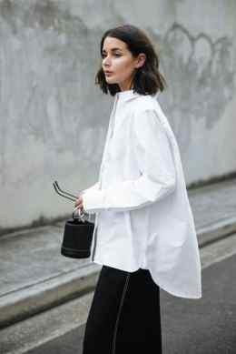 модная белая рубашка стильные образы