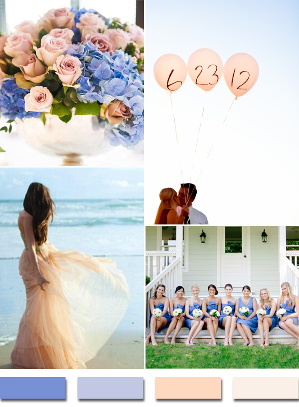 periwinkle-inspired-blue-and-peach-wedding-color-ideas-for-2015-trends
