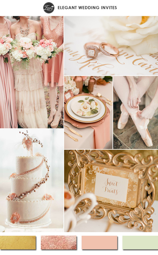 rose-gold-and-blush-with-hint-of-sage-green-wedding-color-ideas-for-2015-trends