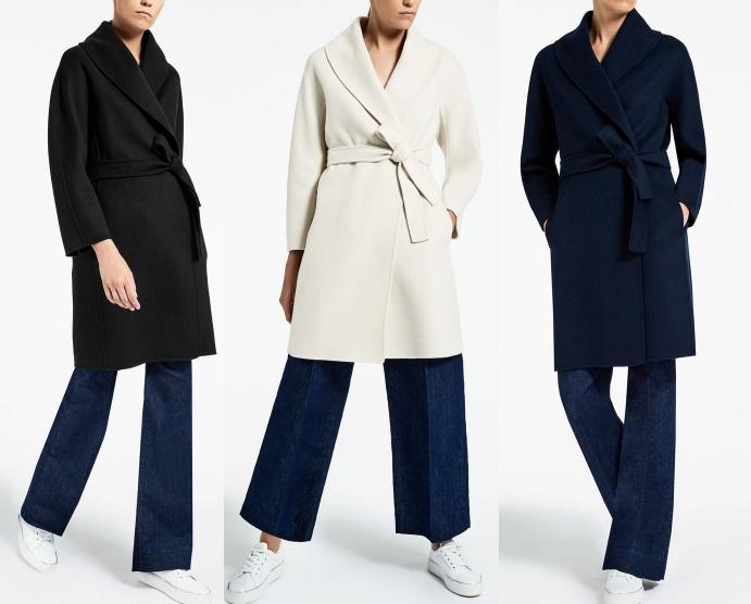 шерстяное пальто Пальто Max Mara 2017