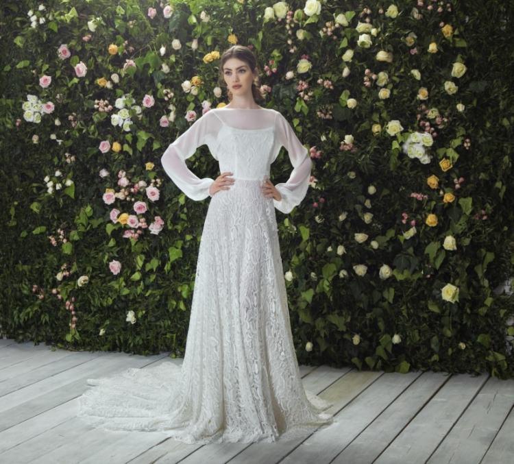 итальяннское свадебное платье - коллекция итальянского бренда Blumarine Bridal 2017