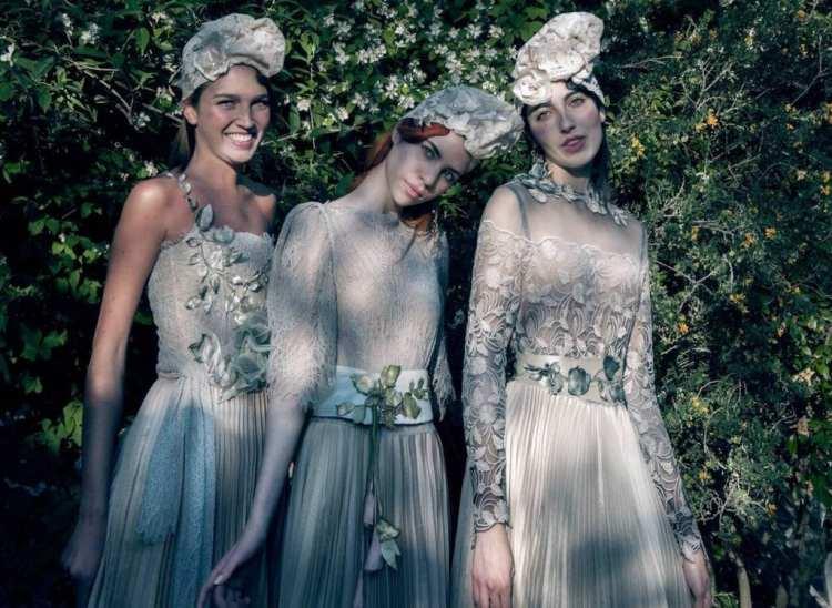 свадебные платья итальянского дизайнера Элизабетта Делогу