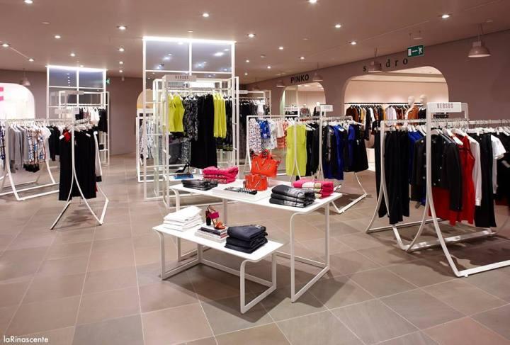 модная бренды одежда Милан