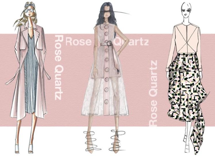 Pantone Fashion color report SS 2016 color Rose Quartz