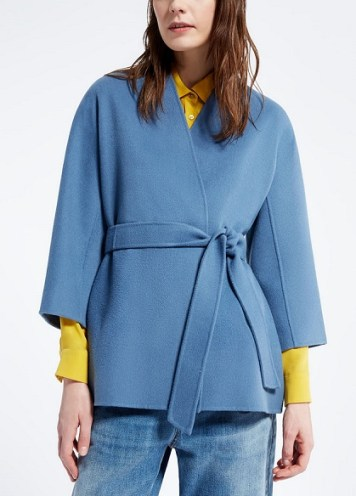 пальто короткое из шерсти Макс Мара в Милане