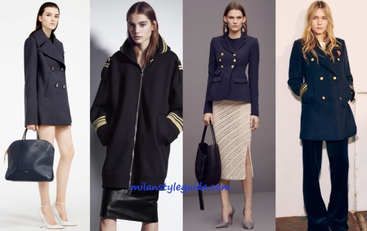 Fashion trend pre fall navy - milanstyleguid