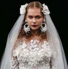 Naeem Khan свадебная мода 2017 - аксессуары