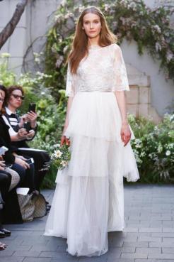новая коллекция модные свадебные платья 2017 Monique Lhuillier