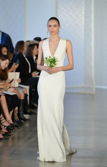 новые свадебные коллекции 2017 Oscar De La Renta Bridal 2017
