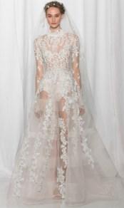 most trendy wedding dress Reem Ocra fall 2017