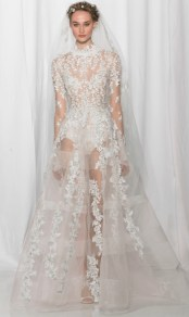 most trendy wedding dress Reem Ocra fall 2017
