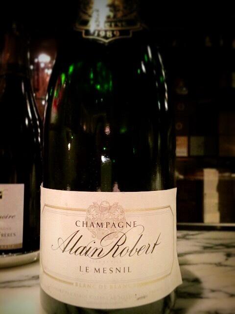 Alain Robert Champagne Blanc de Blancs de Mesnil