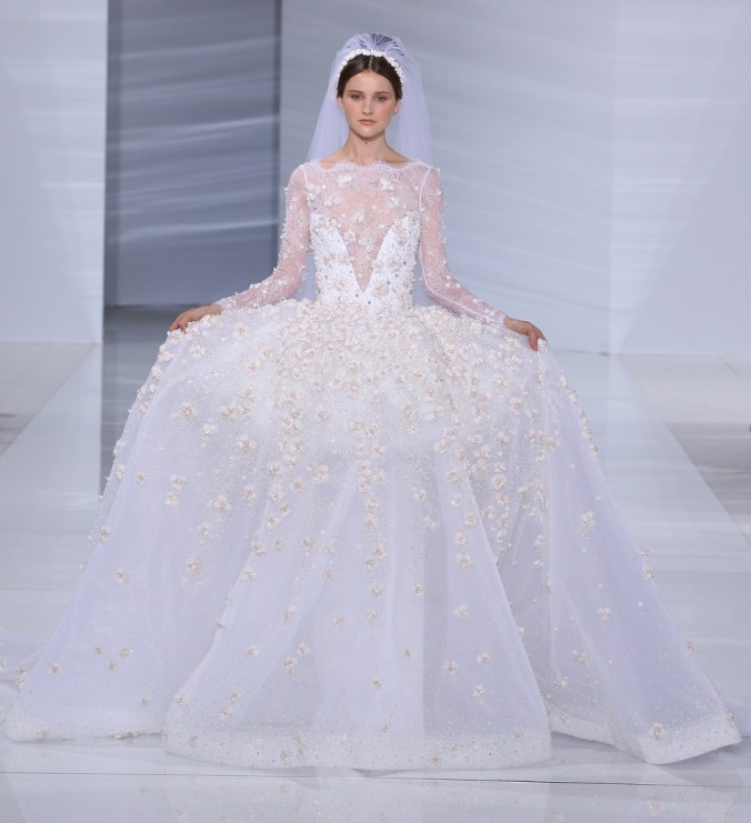 Gerges Hobeika wedding dress