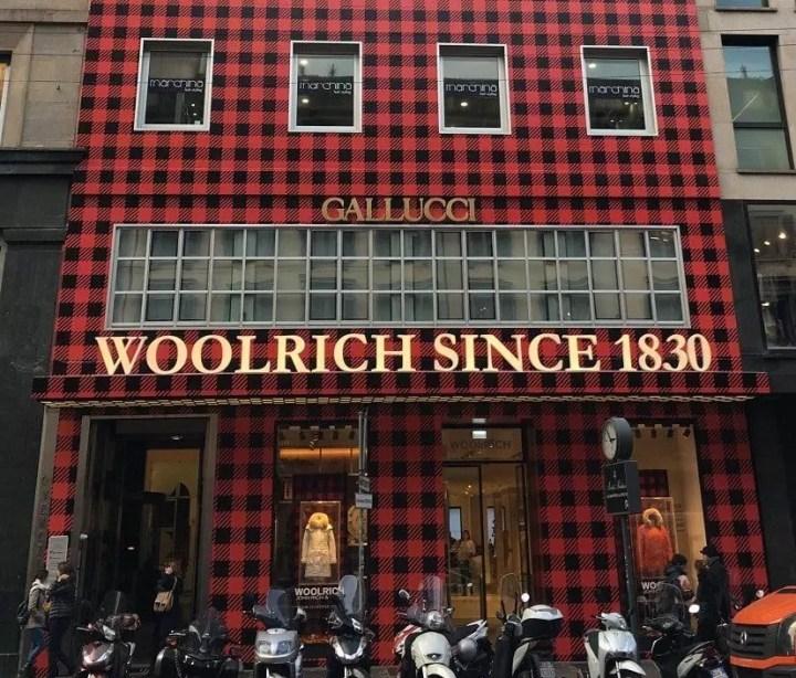 магазин Woolrich в милане Milan