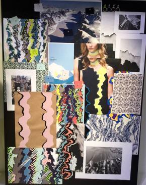 trend moodboard Versace