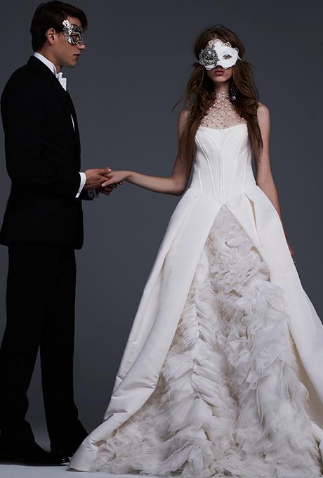 Свадебная коллекция Vera Wang, весна-лето 2019