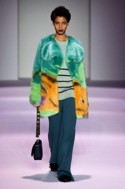 de-vincenzo итальянская модная шуба зима