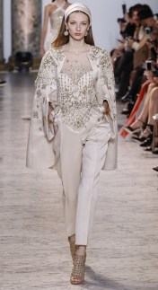 Elie Saab couture SS 2017 wedding suits