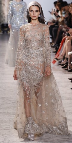 Elie Saab couture SS 2017 wedding dress