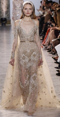 Elie Saab couture SS 2017 wedding dress